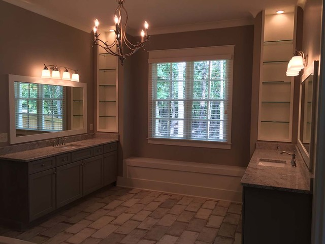 Example of a bathroom design in Other