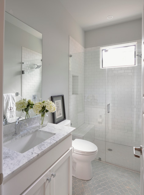 Forest Hills Modern Farmhouse Transitional Bathroom