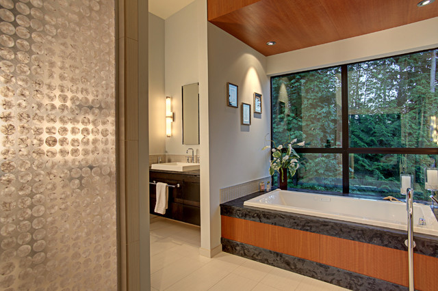 Forest House - Bath contemporary bathroom