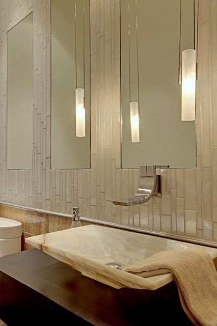 Forest House contemporary-bathroom