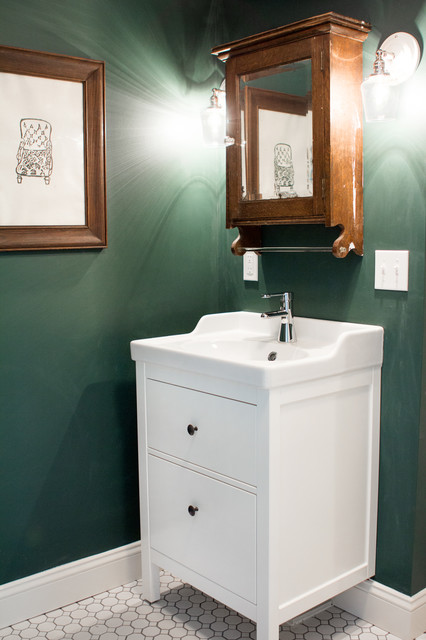 Forest Rd Traditional Bathroom Portland Maine By Landing Design