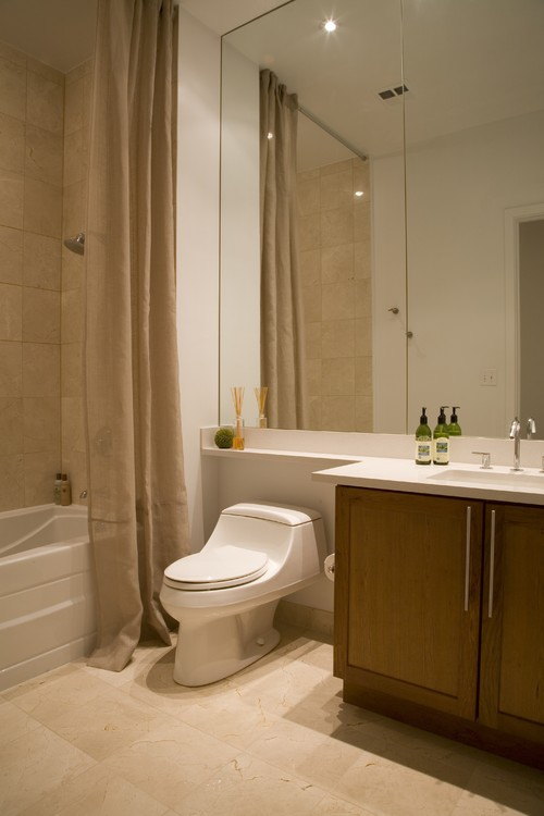 how much space is needed between the bottom of the counter toilet. Black Bedroom Furniture Sets. Home Design Ideas