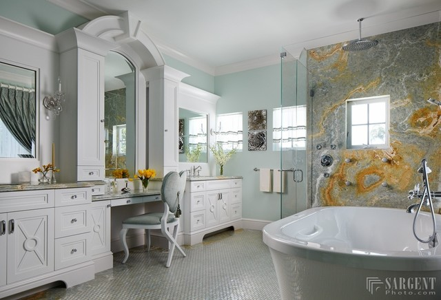 Fort Lauderdale Custom Home Ii Transitional Bathroom Miami By Design Elements