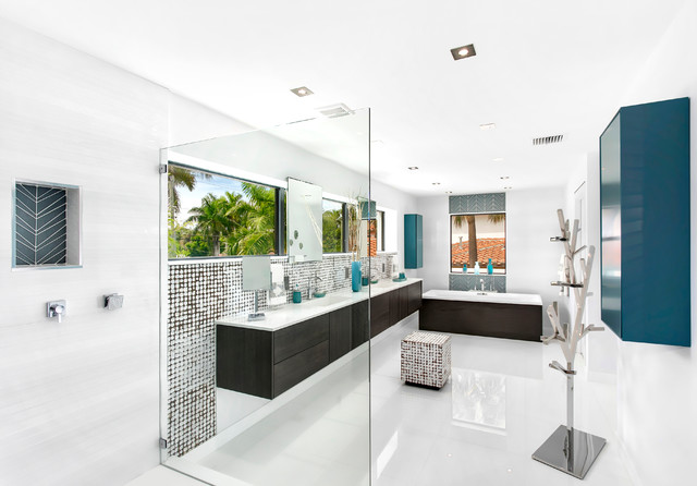 Fort Lauderdale Waterfront Modern Modern Bathroom Miami By In Site De