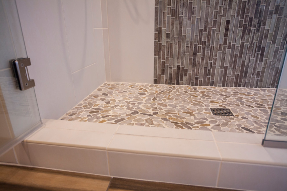 Fort Worth, TX Guest Bathroom Remodel - Contemporary ...