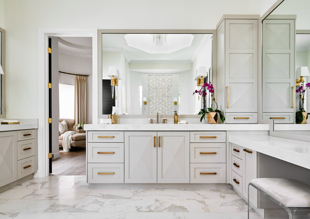 Top Styles Colors And Upgrades For Master Bath Remodels In 2019