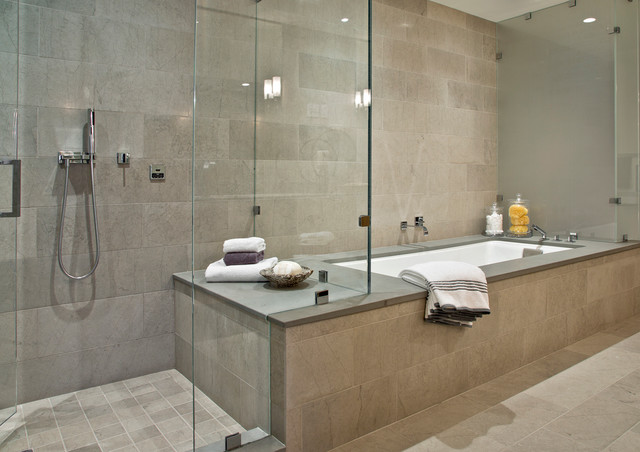 Four Seasons Residences Contemporary Bathroom