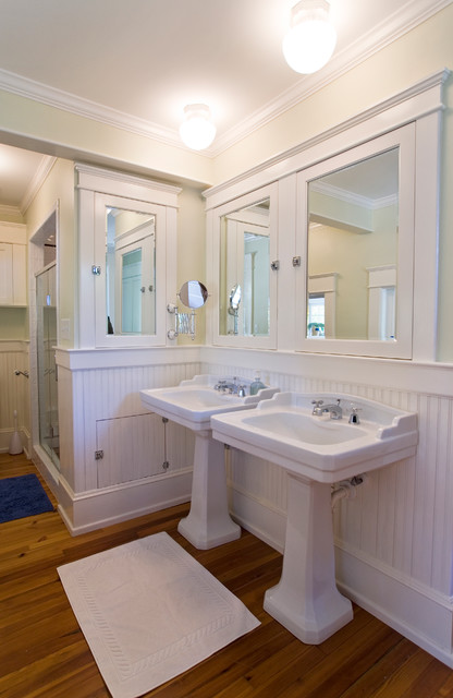 Fox Peck Traditional Bathroom Raleigh By Ellen Cassilly Architect
