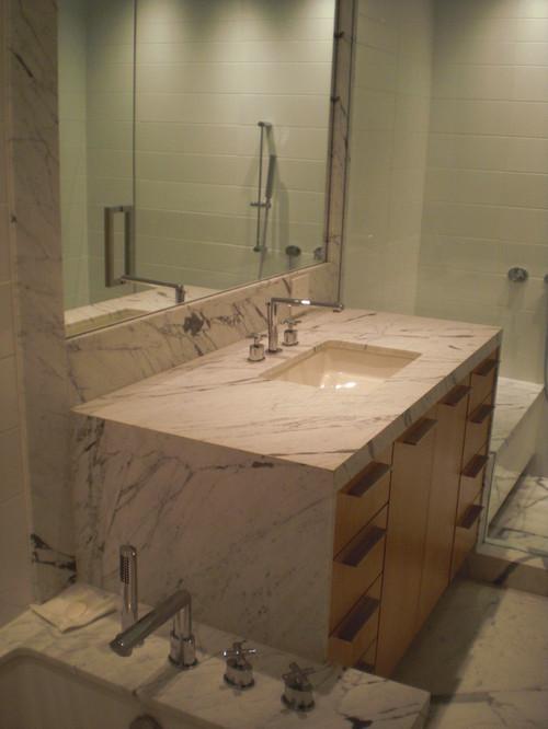 Design Trend Marble Amp Granite Waterfall Countertops