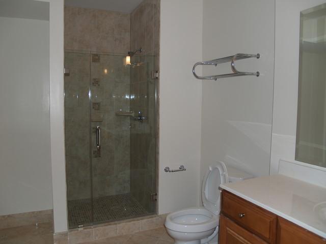 Frameless & Standard Shower Doors traditional-bathroom