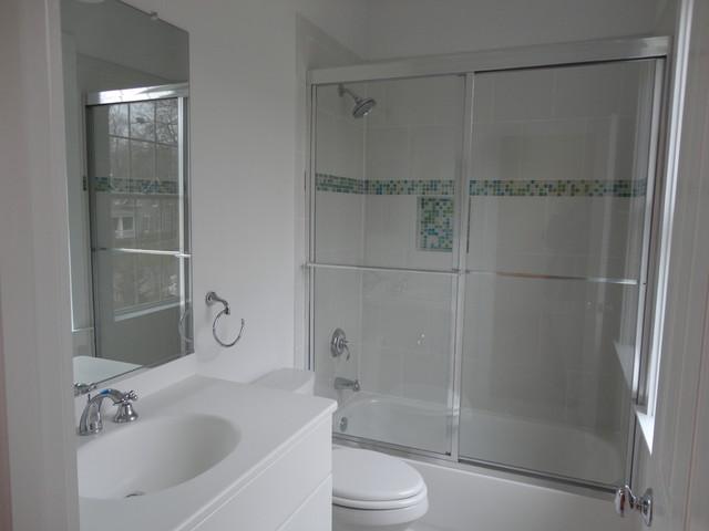 Frameless standard shower doors modern bathroom for Bathroom showrooms boston area