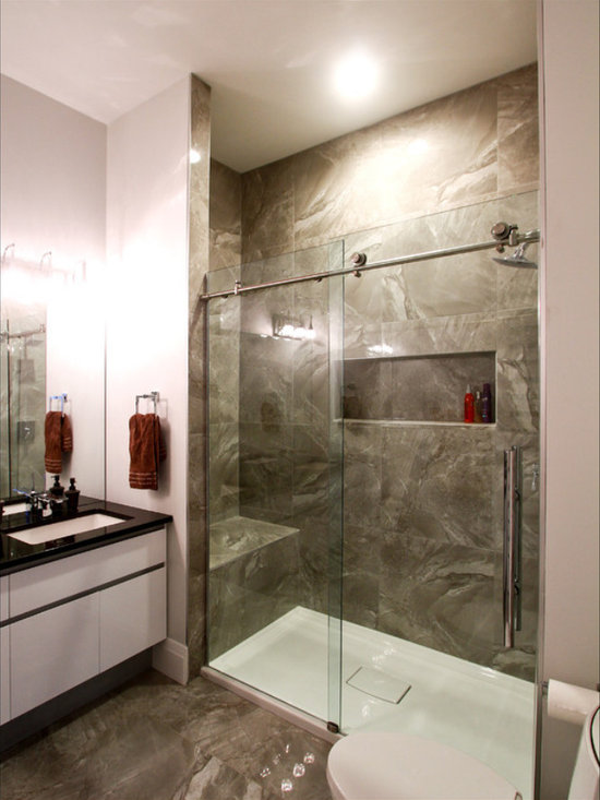 Stand Up Shower Bathroom Design Ideas, Pictures, Remodel & Decor with ...