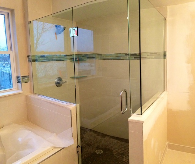 Frameless Shower Door Shower Doors Other Metro By