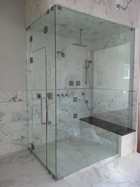 Frameless Shower Doors - Contemporary - Bathroom - denver - by Denver ...