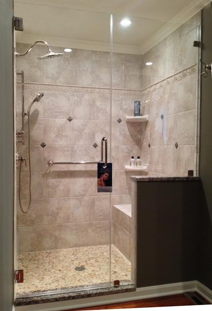 Frameless Shower Doors traditional-bathroom