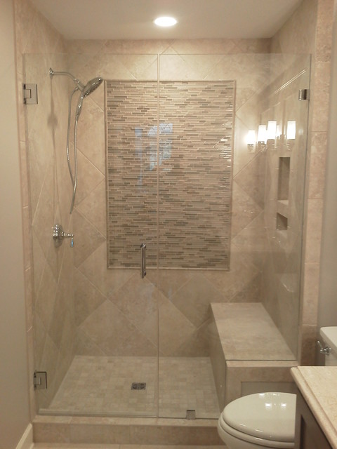 Frameless Shower Doors Contemporary Bathroom Charleston By
