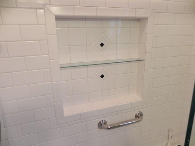 Frameless Sliding Shower Doors traditional-bathroom