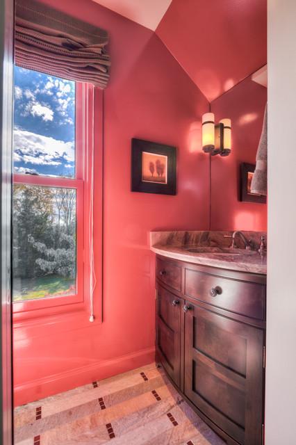 franklin rustic bathroom nashville by david. Black Bedroom Furniture Sets. Home Design Ideas