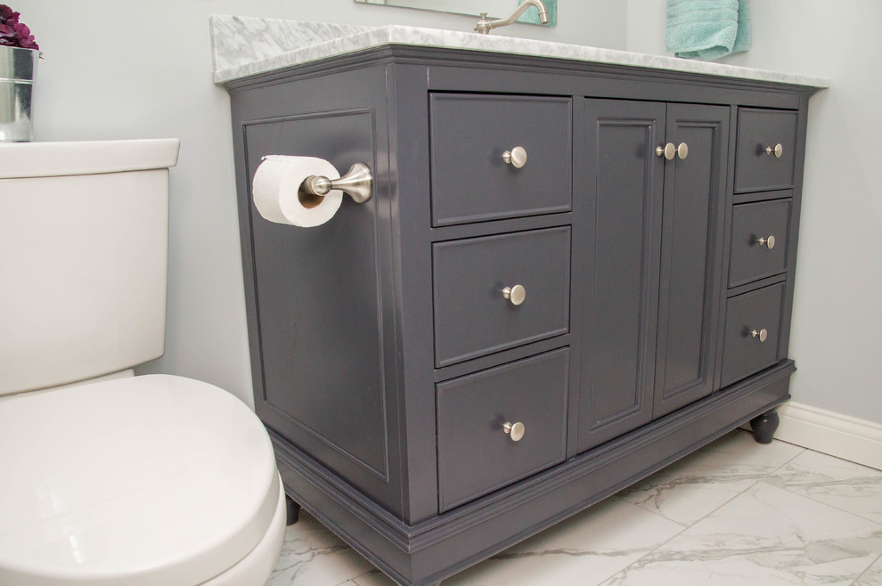 Frazier Bathroom Remodel - Transitional - Bathroom ...