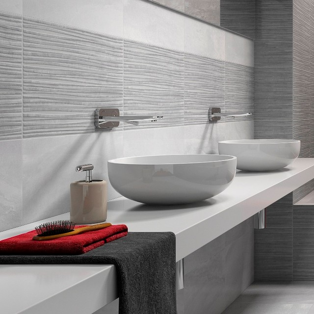 Fred Gloss Grey Patterned Tiles Direct Tile Warehouse By Direct - Fred's floor tile