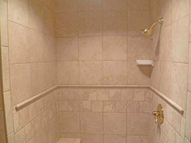 Freedom Brass Shower - Traditional - Bathroom ...
