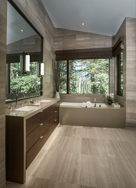 How to create a luxury bathroom experience the house of - Bathroom designs for home ...