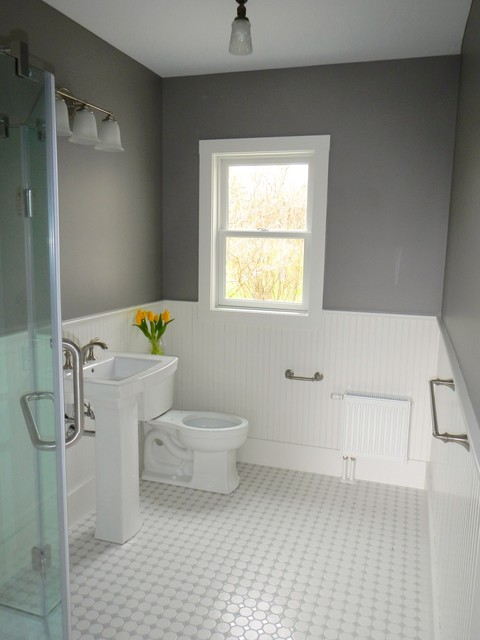 Freeport bathroom remodel beach style bathroom for Bathroom remodel maine