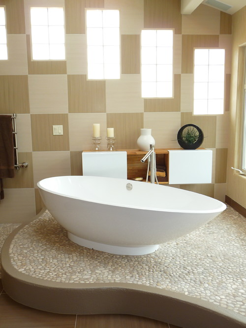 Freestanding Bath contemporary bathroom
