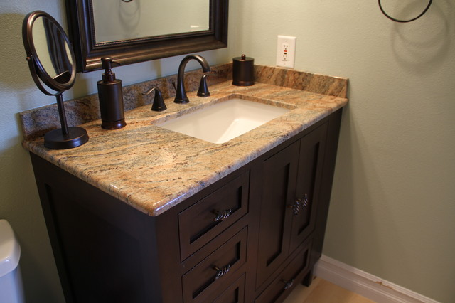 Freestanding Inset Vanities Traditional Bathroom Seattle By Concepts Kitchen And Bath