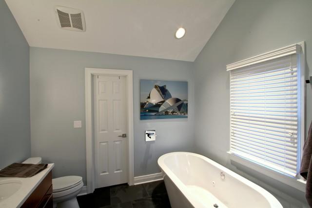 Freestanding Tub Master Bath, Wall Mount Tub Filler - Contemporary ...