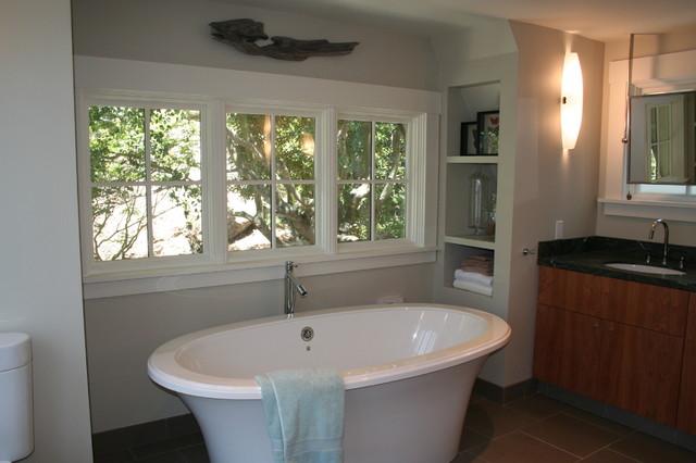 Freestanding Tub asian-bathroom