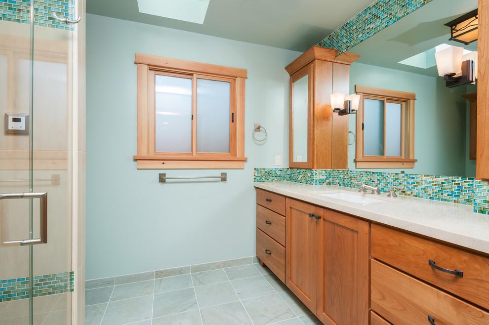 Fremont Craftsman-Inspired Master Bath - Contemporary ...