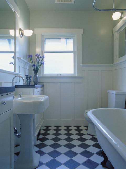 Fremont Residence bath traditional bathroom