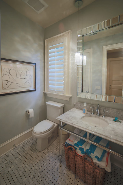 French Chateau In Charlotte Nc Traditional Bathroom Charlotte By Durham Designs
