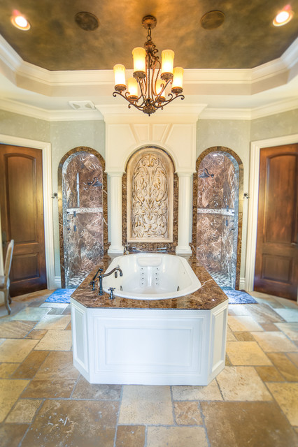 French Chateau Near Salado Texas Traditional Bathroom Austin By J Bryant Boyd Design Build