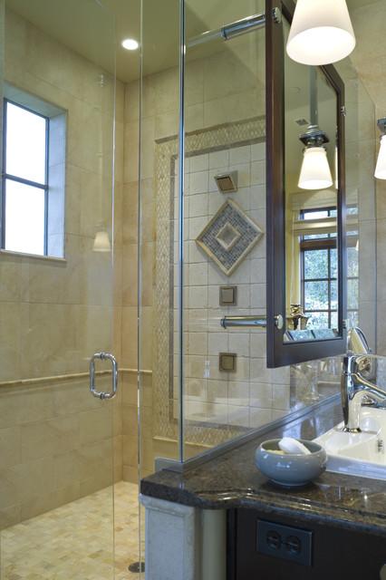 French Country Elegance Traditional Bathroom Portland By Alan Mascord Design Associates Inc