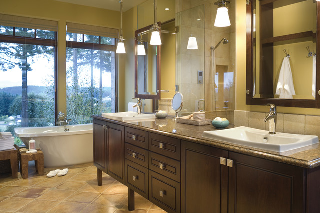 French Country Elegance Traditional Bathroom