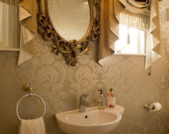 French Country Manor traditional bathroom