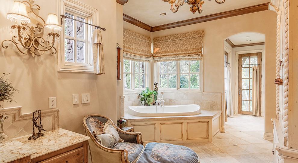 Bathroom - traditional bathroom idea in Oklahoma City