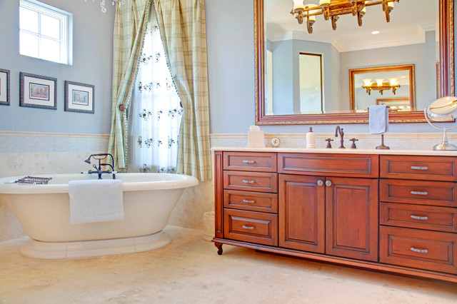 french country master bathroom mediterranean bathroom