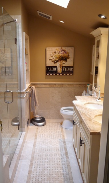 French country master suite renovation traditional for French bathroom designs