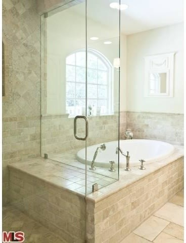 French Country Renovation, Woodland Hills, CA traditional bathroom