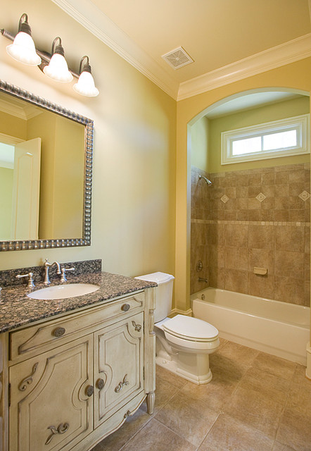 French Country Traditional Bathroom Atlanta By