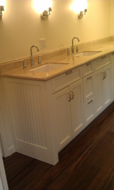 French country vanity cabinets traditional bathroom - Country french bathroom vanities ...