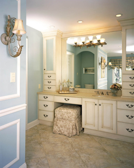 French Inspired Bathroom Suite Traditional