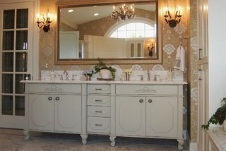 French Inspired Traditional   Traditional   Bathroom   Seattle   By Sheila  Mayden Interiors