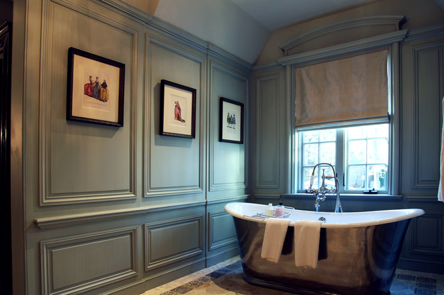 French Master Suite Traditional Bathroom Dallas By Hull Historical