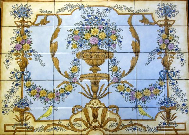 Rococo Decorative Wall Tile
