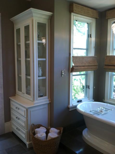 French Provence Villa traditional-bathroom