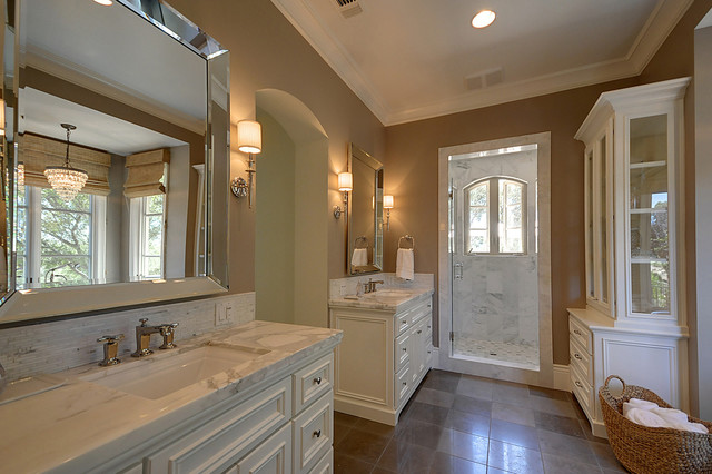 French Provincial - Traditional - Bathroom - Sacramento - by Lee ...